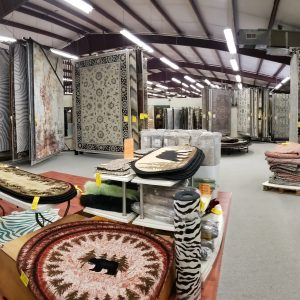 Large selection of rugs in stock