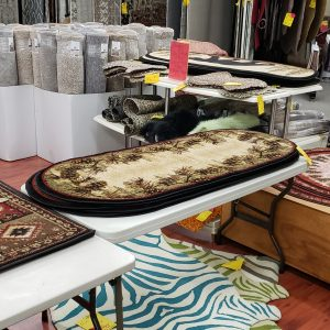 Rustic mountain styled rugs